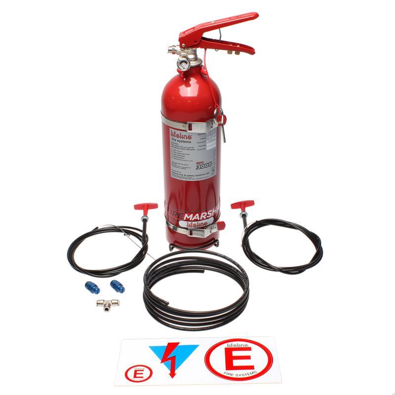 360 Lifeline Fire Extinguisher Equal T Fitting Zero 2000